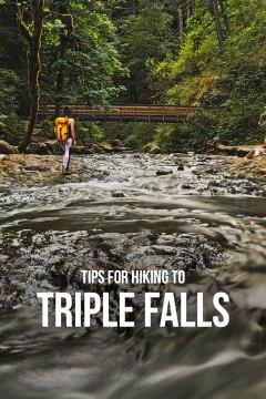 Tips for Hiking to Triple Falls, Columbia River Gorge, Oregon // localadventurer.com