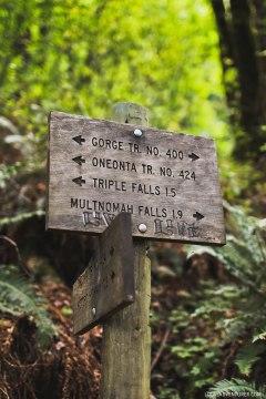 Triple Falls Trail, Columbia River Gorge, Oregon // localadventurer.com