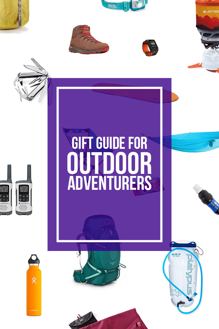 25 Gifts Your Outdoor Adventurers Will Actually Love { Your Essential Outdoor Gift Guide } - Gifts for Hikers, Campers, Outdoorsmen and Outdoorsy Women // Local Adventurer