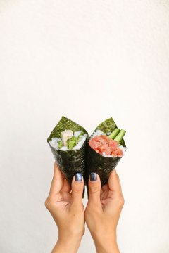 Temakira Hand Rolls + Best Restaurants in Irvine CA // localadventurer.com