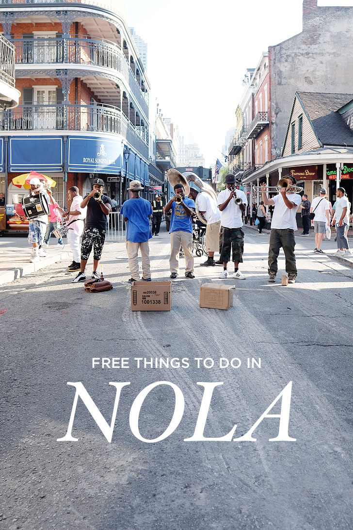 25 Fun Free Things to Do in New Orleans // localadventurer.com