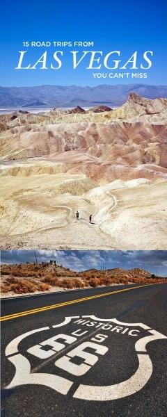 15 Best Road Trips from Las Vegas // localadventurer.com