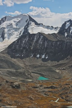 Heart Lake near Ala-Kul Lake in Kyrgyzstan // localadventurer.com