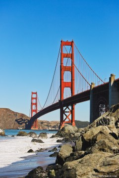Can't visit SF without visiting the Golden Gate Bridge + Best Places to Stop on Your San Francisco to San Diego Road Trip // localadventurer.com