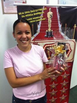 Vanessa Teotonio (premiada equipe BV Telecobrança - Fábrica I)