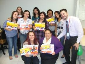 Entrega de Certificados na filial Curitiba