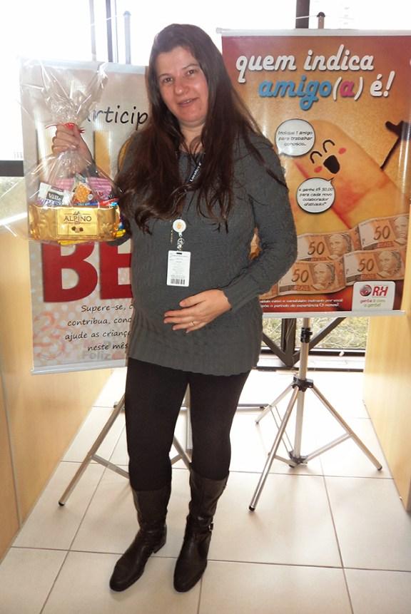 Cleonice de Freitas Andrade (recuperadora premiada - filial Curitiba)