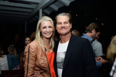 HUNTINGTON BEACH, CA - JULY 07: Actor Brian Van Holt (R) and guest attend the Grand Opening of The Bungalow Huntington Beach at The Bungalow Huntington Beach on July 7, 2016 in Huntington Beach, California. (Photo by Matt Winkelmeyer/Getty Images for Bolthouse Productions)