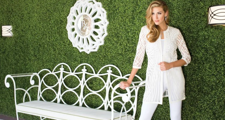 Actress Perry Mattfeld Gets Glam in Grayse in Palm Springs