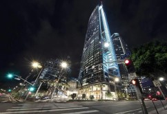 Exterior Night Building