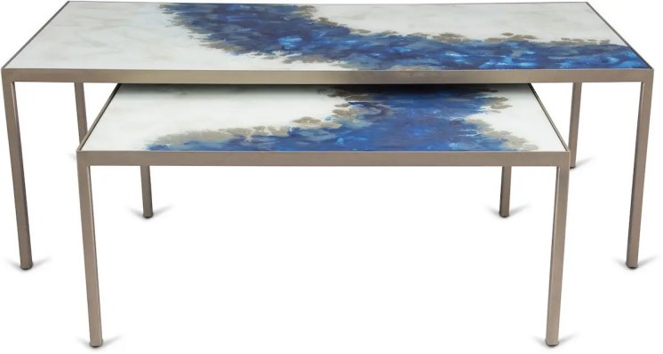 HDB - Blue Mist Coffee Table (FRONT)