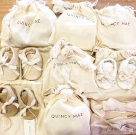 Milk & Honey Baby - Quincy Mae Booties