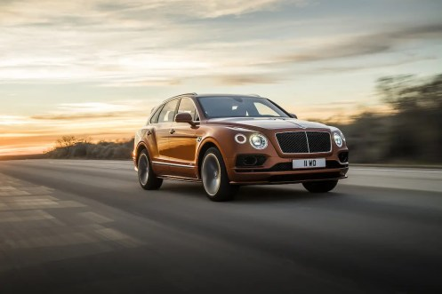 Bentley Bentayga Speed Photo: James Lipman / jameslipman.com