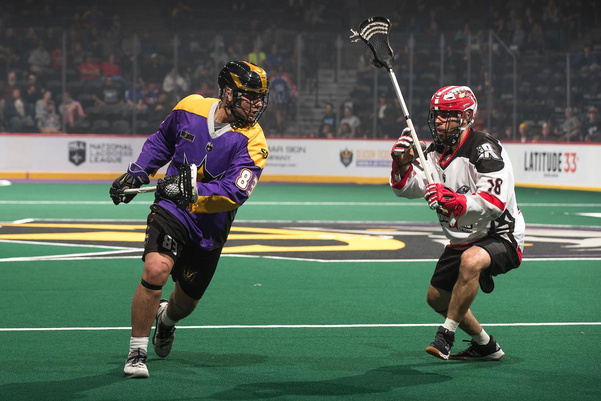 Calgary Roughnecks at San Diego Seals 01.18.19 Mike McGinnis 01/18/2019 National Lacrosse League