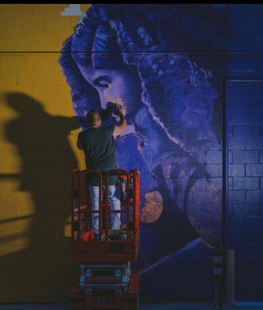 Kobe Mural Costa Mesa