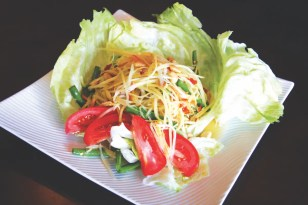 Lemon Thai Cuisine_5 Points Plaza_papayasalad