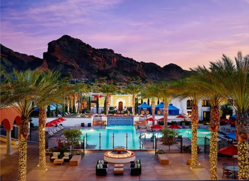 Omni Scottsdale_Montelucia_exterior_night_b