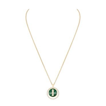 Leeds & Son_Messika Paris - Collier Lucky Move Malachite 10840 Y