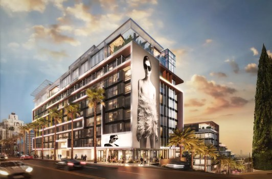 Pendry_WEHO_SunsetViewWest_Rendering