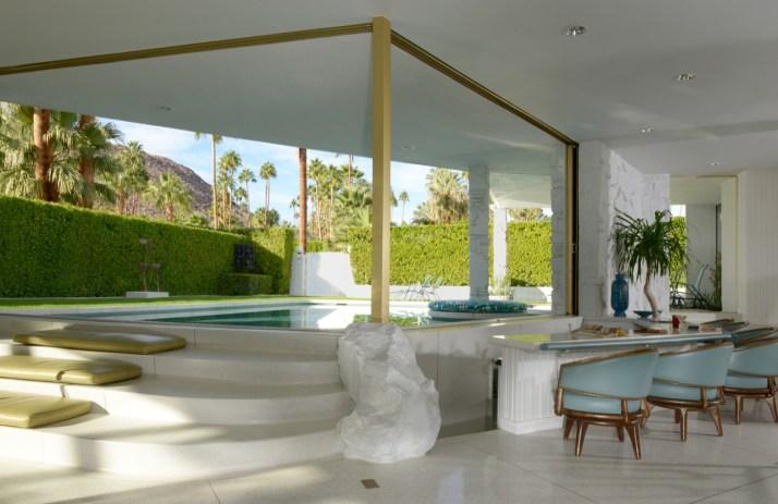 Modernism Week_Morse Residence Living Room Photo by Dan Chavkin