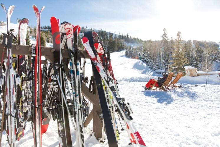 Park City_Ski Racks at Deer Valley Resort