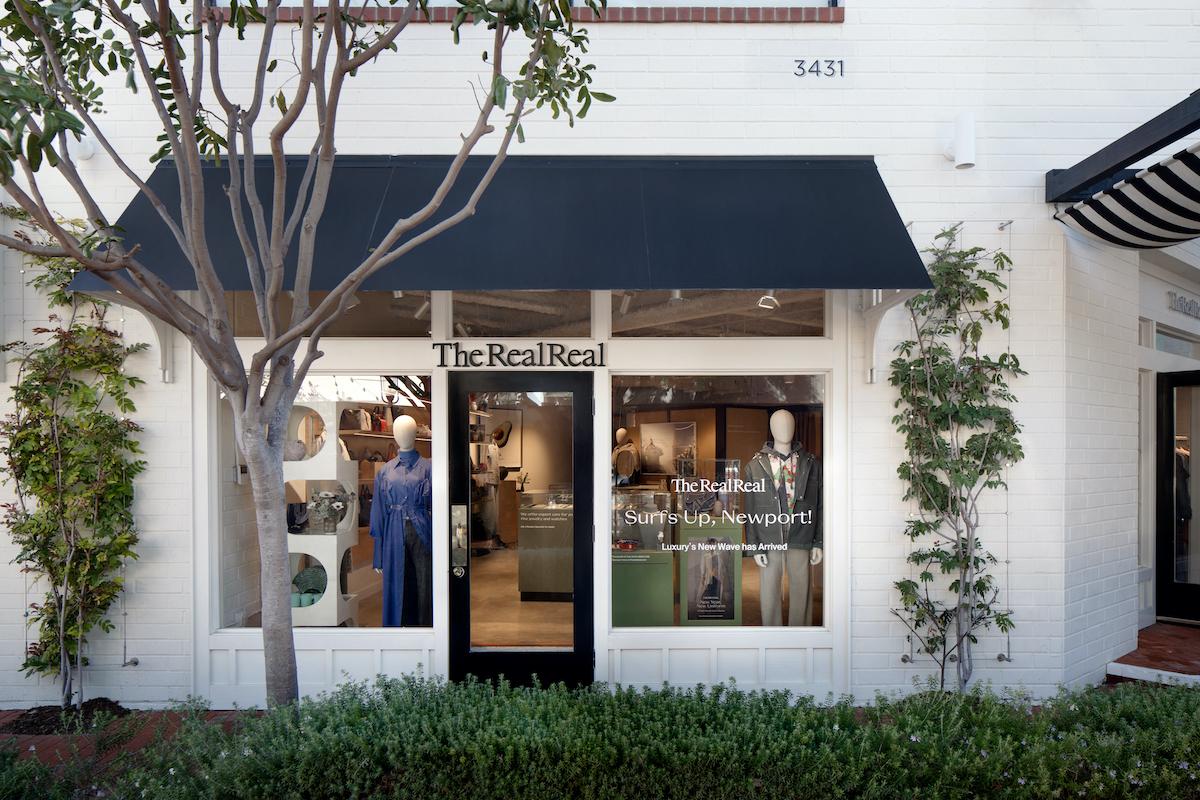 TRR Newport Beach Store Exterior
