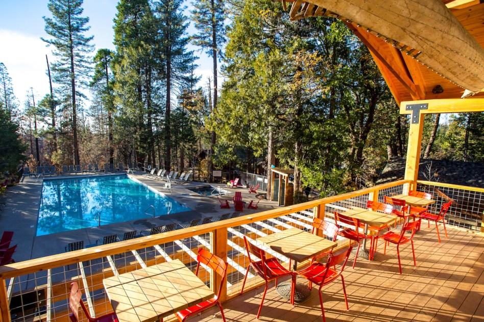 Evergreen Lodge Cedar Terrace (c) Kim Carroll