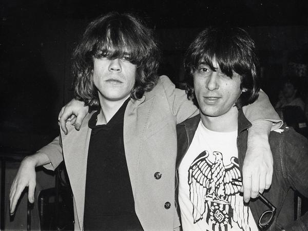 Johnny Thunders y David Johansen algo tocados