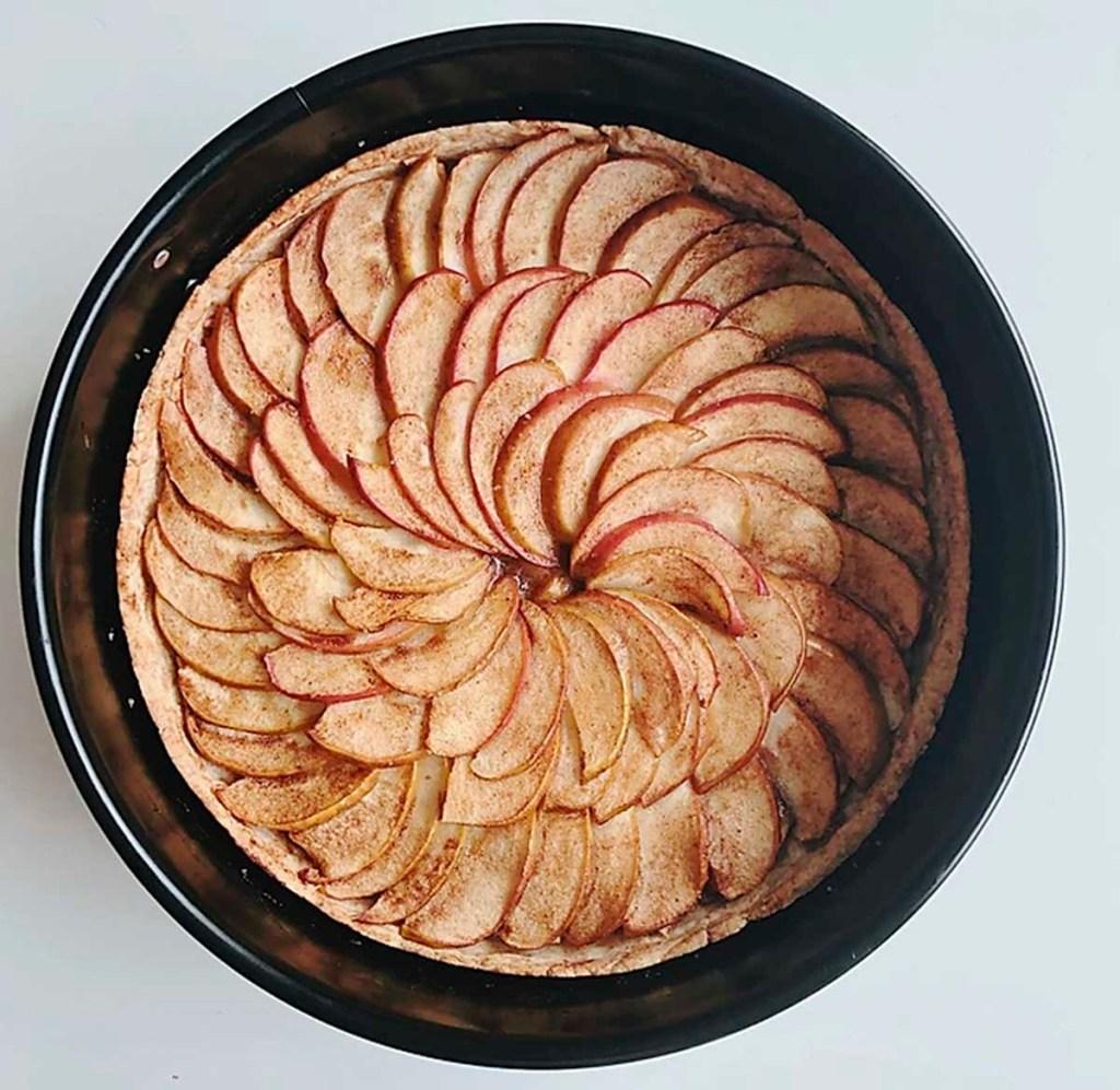 Torta de Maça Orgânica