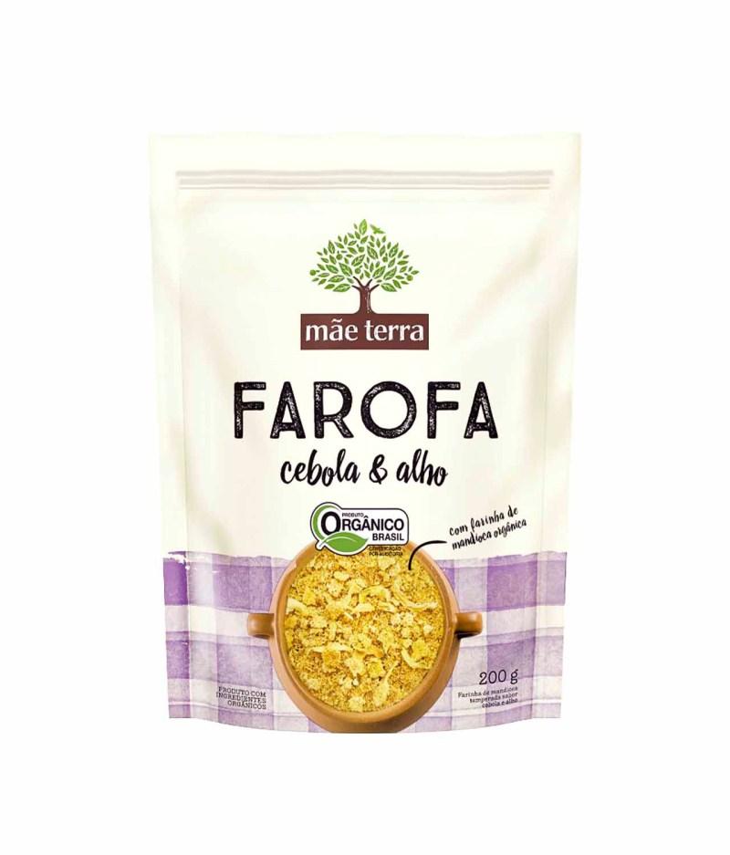 Farofa Cebola e Alho Orgânica