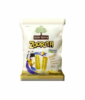 Zooreta Salgadinho Milho Orgânico