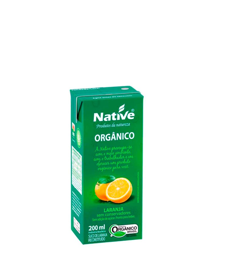 Suco de Laranja Orgânico