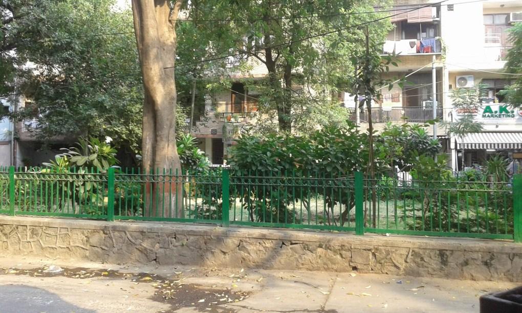 residential locality jangpura new delhi vaneesha