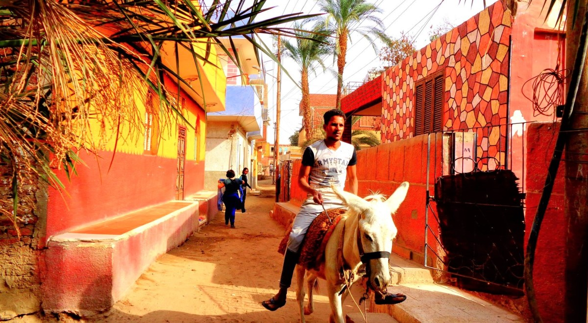 elephantine village aswan egypt