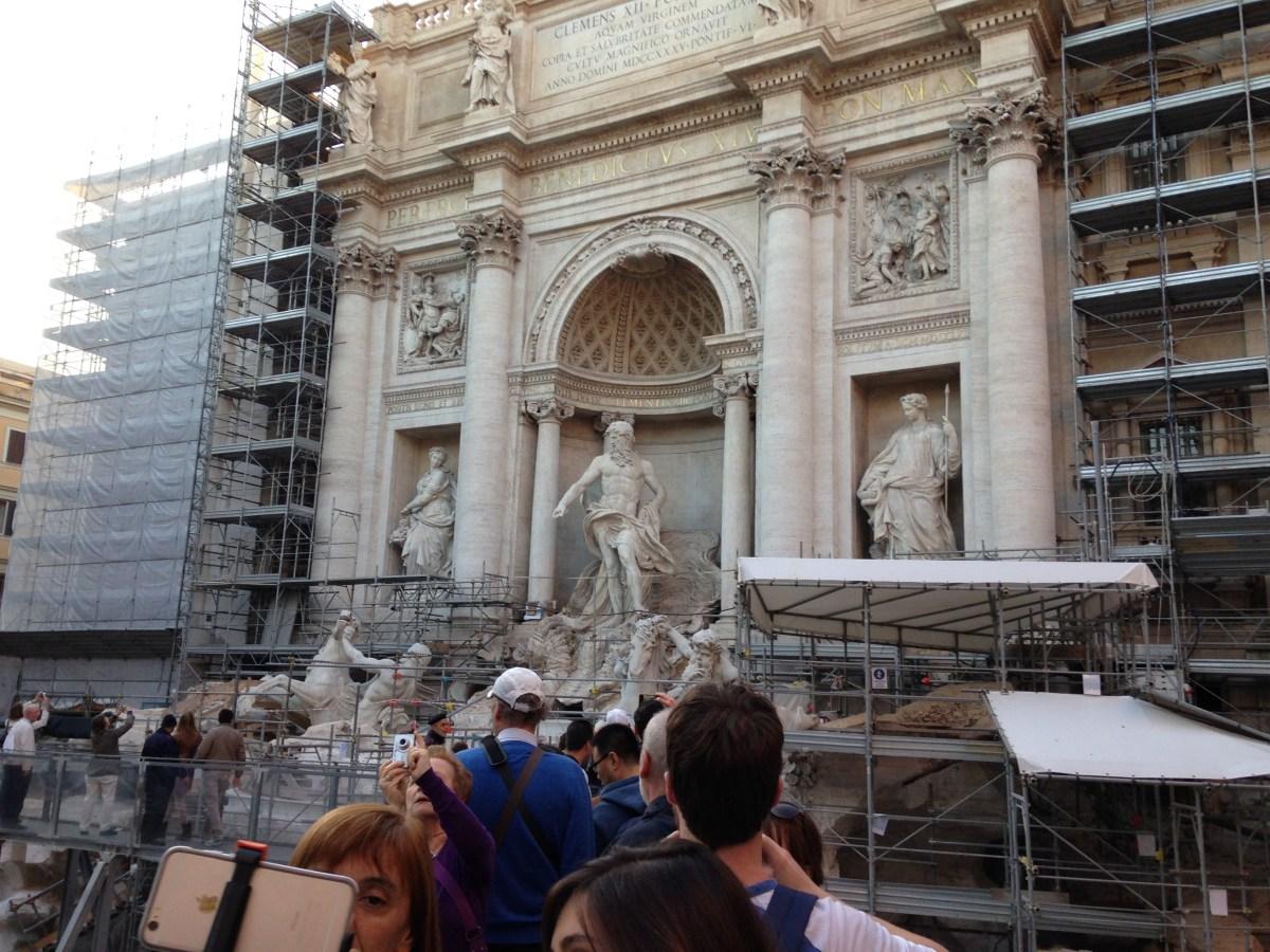 Day 1 in Rome, Italy : Repubblica, Trevi Fountain and Trastevere