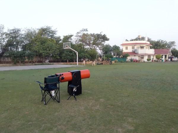 stargazing near delhi AAAD Maria's braveheart