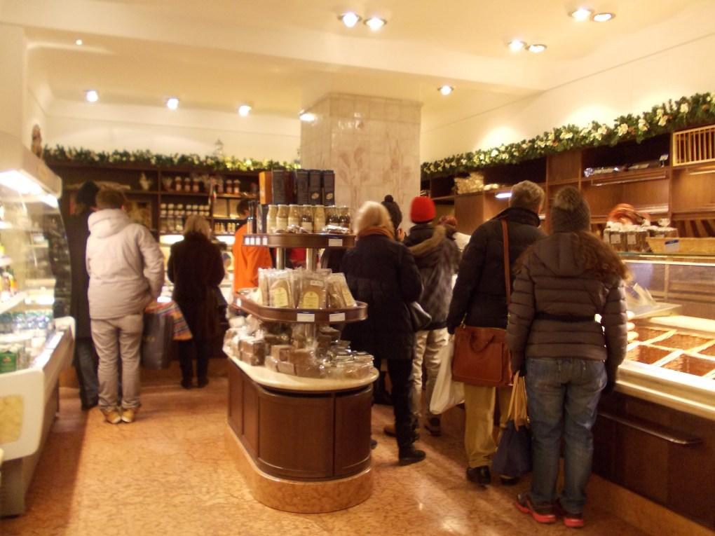 inside shop dallmayr