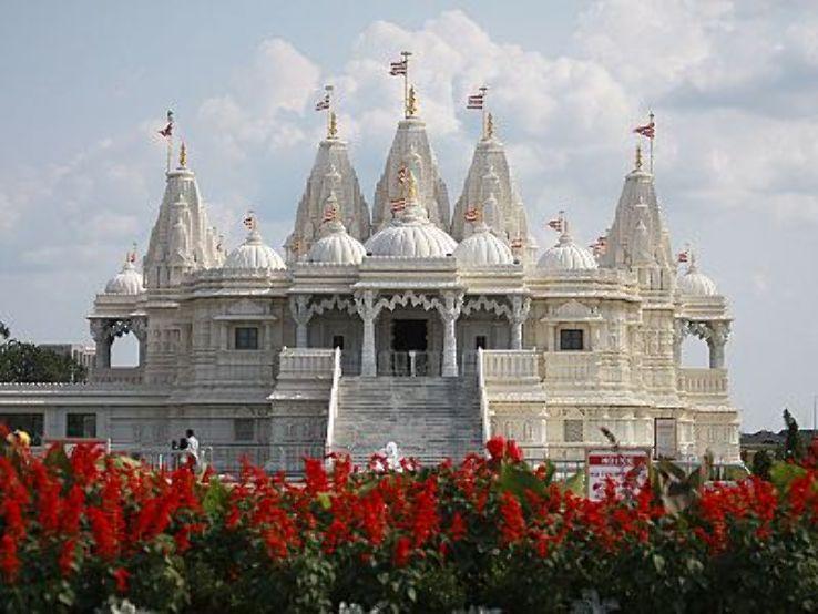 Classical Architecture Swaminarayan Temple Bhuj Gujarat