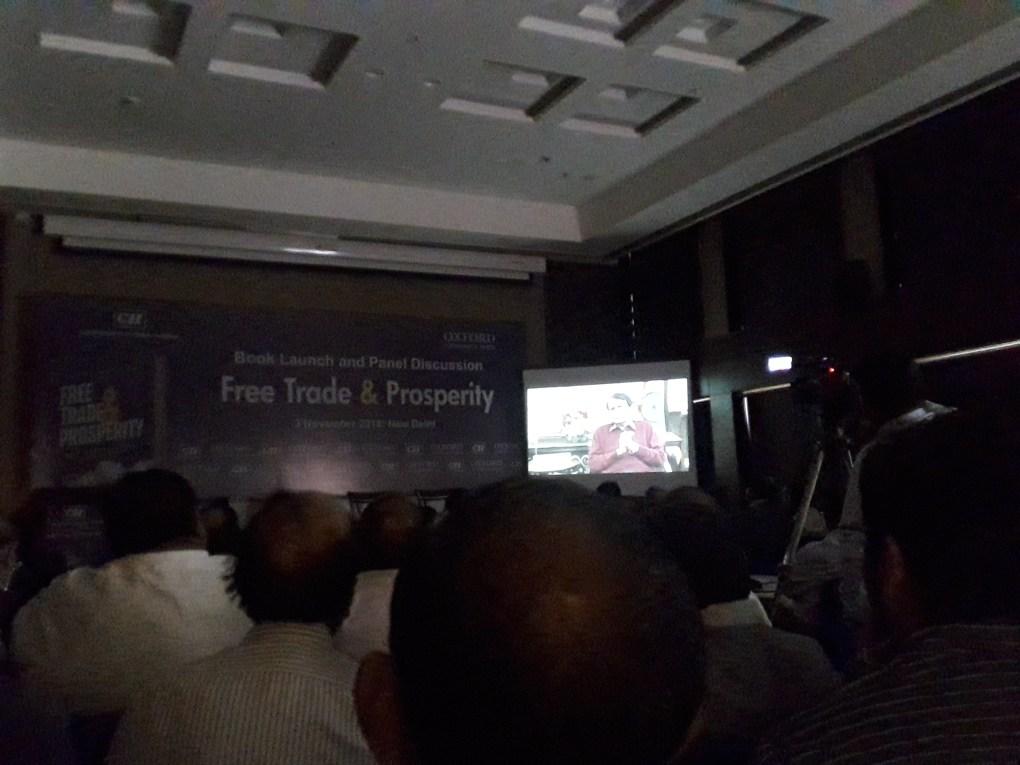 arvind panagariya book launch suresh prabhu address
