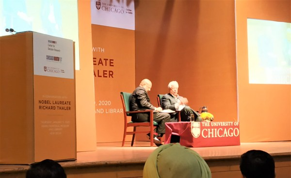 richard thaler nudge new delhi uchicago feature