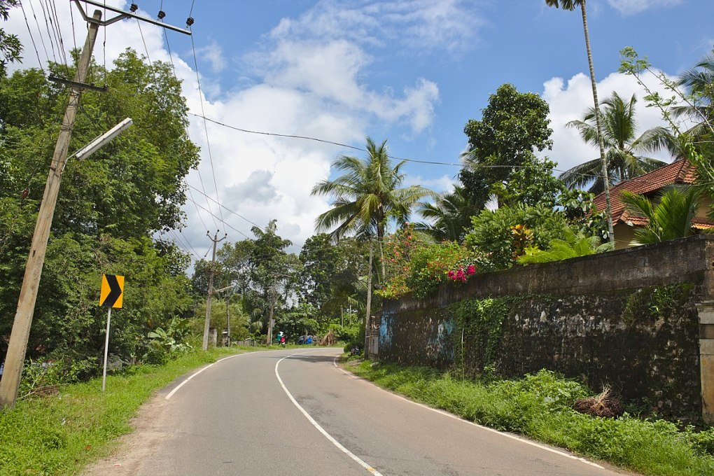 aruvikkara village kerala street view