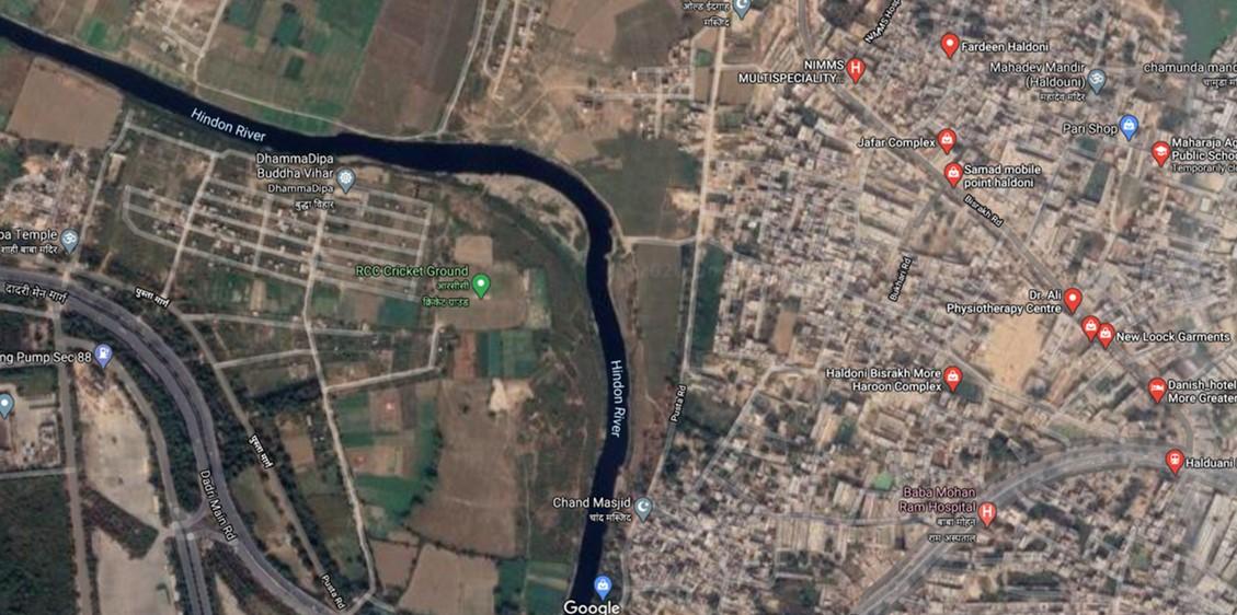 haldoni village hindon river gautam buddha nagar