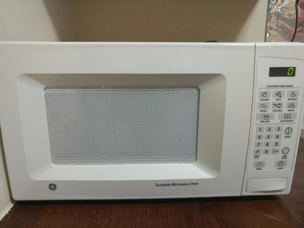 ge turntable microwave oven