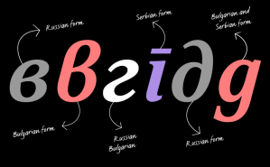 Fonts: the Importance of Localisation