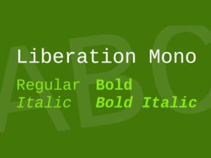 Liberation Mono