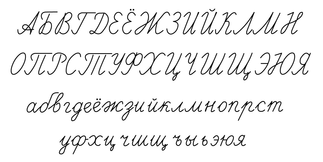 Early forms of cyrillic Р р — typedrawers
