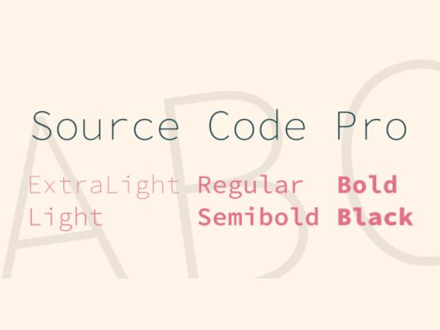 Source Code Pro