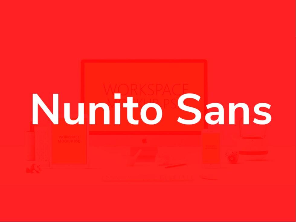 Nunito Sans