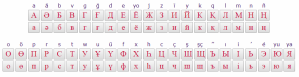 Kazakh Keyboard Online Cyrillic Alphabet
