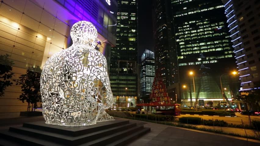 Singapore Soul by Jaume Plensa